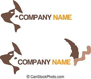 Animal rescue logotype