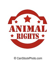 Animal Rights-stamp