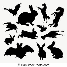 Animal silhouette collection - Animal silhouette. Good use...
