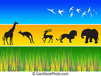 Animal Silhouettes 3
