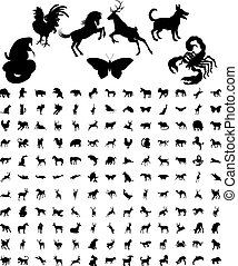 Animal Silhouettes Bundle