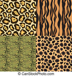Animal skin - This image is a vector illustration and can be...