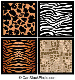 animal skin texture - illustration of animal skin texture