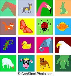 animal tiles