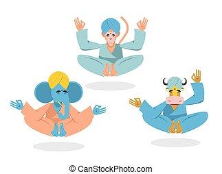 Indian monkey Vector Clip Art Illustrations. 390 Indian ...