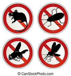 animale dannoso, errori del software