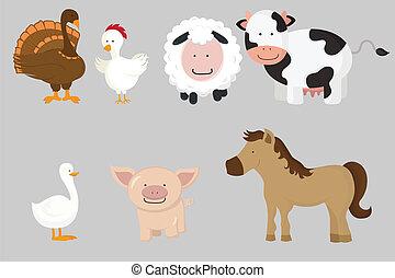 animali fattoria