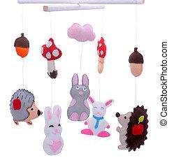 animali, giocattoli