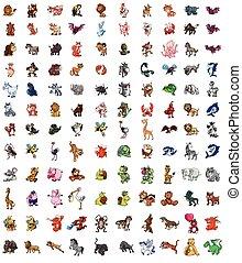 Animals Big set mega pack