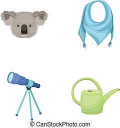 animals, education and other web icon in cartoon style.clothes, garden tools icons in set collection.