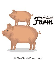 animals farm group icon