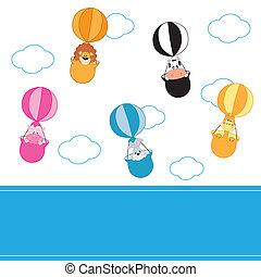 animals flying