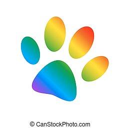 Animals footprint