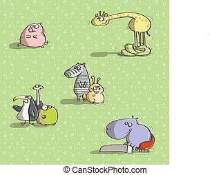 Animals Having Fun No.3