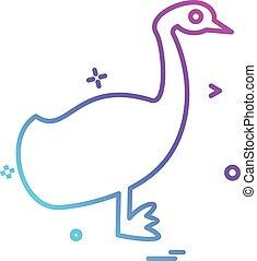 Animals icon design vector