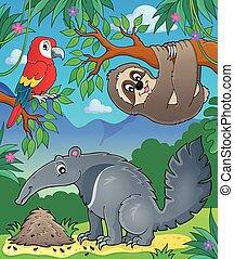 Animals in jungle topic image 1