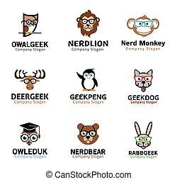 Animals Pets Geek Design
