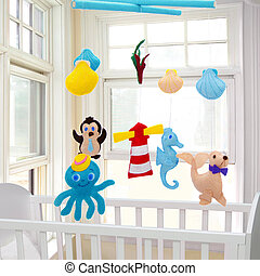 Animals toys - Baby mobile - kids toys