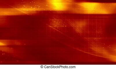 Abstract Red Orange VJ Loop