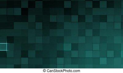 Animated background - blue mosaic - Animation - background...