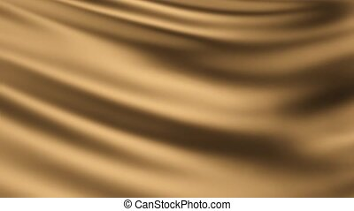 animated background is made of gold cloth