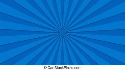 animated background of blue rotating rotating beams. loopable.