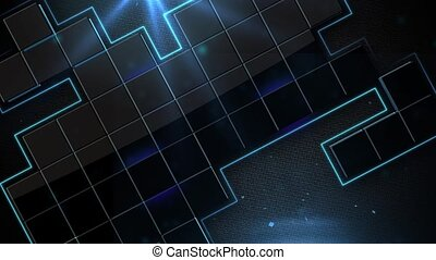 animated background - abstract, particle, particles,...