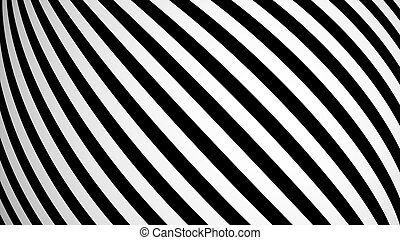 Animated background with white and black lines