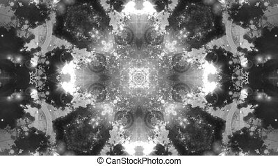 Black and white VJ Loop abstract - Animated Black and white...