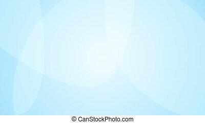 Animated blue background