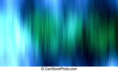 Blue Green Vertical Streaks Loop