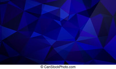 Animated Blue Triangle Fractal Backdrop - Fractal triangle ...