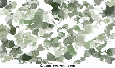 Animated camouflage background