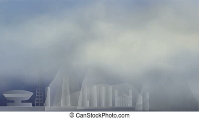clouds in Rio de Janeiro