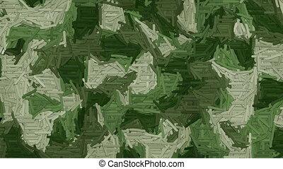 Animated dash camouflage background - Random animated dashes...