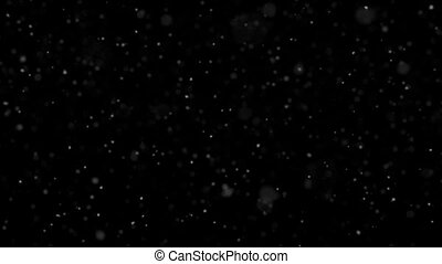 Animated Dust Particle Background with Narrow Depth of...