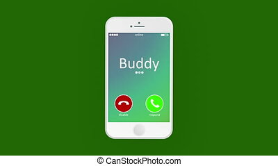 """""""Animated phone calling with humor lines"""" - """"Funny 3d..."""