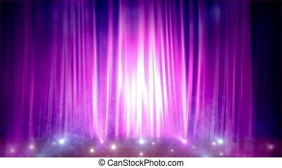 Animated Purple Scene.