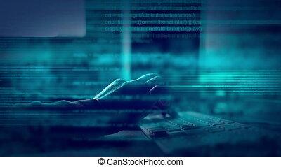 animated script programming code