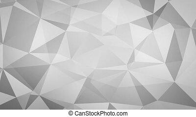 Animated Triangle Fractal Backdrop - Fractal triangle shard ...