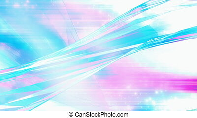 VJ abstract looping blue pink white