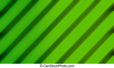 VJ line pop art abstract looping background in green