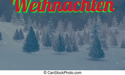 Animated Weihnachten text