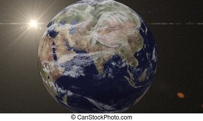 animatie, china, zooms, earth-