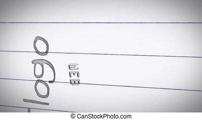 animatie, van, grafisch ontwerp, termijnen