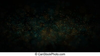 abstract dust particles background - animation abstract dust...