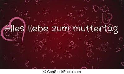 Animation Alles liebe zum muttertag, Happy Mother's day in...