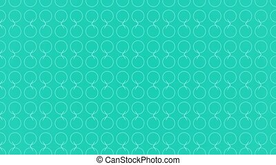 Animation background with circle and lines - Animation...