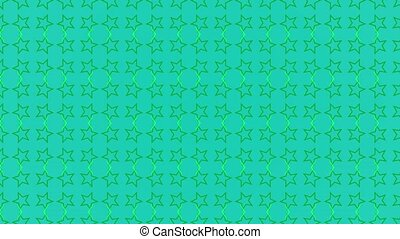 Animation background with stars and lines - Animation...
