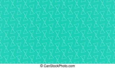 Animation background with triangle and lines - Animation...